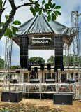 Línea activa sistema del concierto al aire libre del locutor de la etapa de 12 pulgadas del arsenal