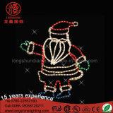 크리스마스 훈장을%s 방수 LED 제 2 산타클로스 주제 빛
