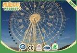 La diversión caliente del parque de atracciones de la venta monta la rueda de visita turístico de excursión de la altura de los 75m