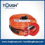 Cuerda sintetizada de alta resistencia del torno de Dyneema para el torno eléctrico de ATV