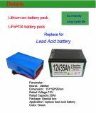 Paquete de la batería de ion de litio para el almacenaje de energía casero de la Sistema Solar 12V10ah