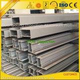 Frame de alumínio de alumínio revestido do pó para a construção de edifício da parede de cortina