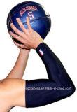 Funda ULTRAVIOLETA del brazo del Spandex de la protección para el baloncesto