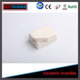 Crogiolo di ceramica rettangolare dell'allumina di elevata purezza