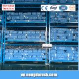 Stapel-Zahnstangen-Stahl, der Racking für Lager mit der Farbe wahlweise freigestellt stapelt