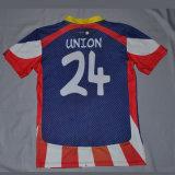 Futebol feito sob encomenda Jersey da camisola/crianças do futebol