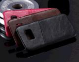 iPhoneのための電話箱PUの革背部ケースカバー