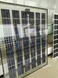 30V поли двойная стеклянная панель солнечных батарей BIPV 255W- 265W