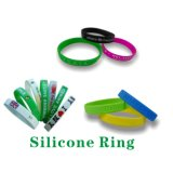 Silikon-Armband-SilikonWristband Promotionalitem Company Firmenzeichen geprägter