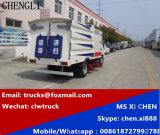 Isuzu 600p 4X2 LHD 3m3 Vakuumreinigungs-Straßen-Straßen-Kehrmaschine-LKW
