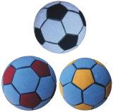 膨脹可能な投げ矢のVelcorのサッカーボール、魔法のサッカーボール、ヴェルクロフットボール、投げ矢のサッカーボール