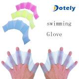 Swim Glove Flvppers Wended Pombas de luvas de dedo