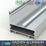 Profil T5 en aluminium de l'extrusion 6063 de porte de guichet en aluminium de l'Algérie