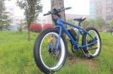 '' E-Bici de aluminio de la montaña del marco del neumático gordo de moda del diseño 26