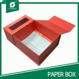 Caixa de presente feita sob encomenda extravagante do papel do cartão do tamanho