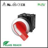 Interruttori di selettore illuminati del IP 65 lunghi della maniglia di Supu