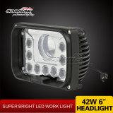 """5.5 """" 42W LED 일 빛 새로운 디자인 크리 사람 LED Headlamp"""