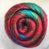 Filato fantasia, lavorante a mano filato, filato di colore del Rainbow, filato acrilico Jd9417