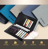 طويلة نحيلة رجال محفظة محفظة [جنوين لثر] عملة بطاقة محفظة