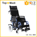 Sillón de ruedas manual eléctrico de descanso de la terapia de la rehabilitación para los minusválidos