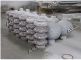 Máquina de pedra automática da balaustrada para o granito/mármore da estaca