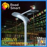 15W cinco años de garantía, ventas del primeras, precio razonable de las luces de calle solares integradas