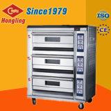 Bom forno de gás de Efficency/Luxucy/3-Deck/6-Tray/no equipamento da padaria