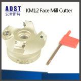 フライス盤のためのCNCのアクセサリKm12の表面製造所のカッターのツール