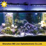 Salida del sol de la iluminación del acuario LED y luz del acuario de la puesta del sol LED para los corales
