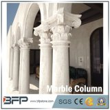 Losa de mármol amarillenta de la alta calidad para la decoración de interior y al aire libre