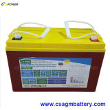 Batterij 12V100ah, Cg12-100ah van het Gel van de leverancier de Navulbare Zonne