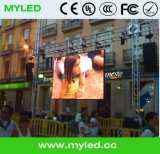 Farbenreiche 640mmx640mm druckgießende Aluminiummietbildschirm P5 LED-Bildschirmanzeige im Freien