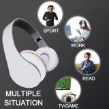 Cuffia avricolare Handsfree stereo senza fili fredda bianca di Bluetooth