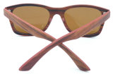 Óculos de sol de madeira do estilo clássico da boa qualidade de Fqw162975 Hotsale