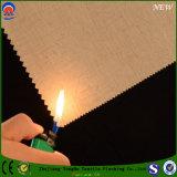 Tela de congregação revestida Flame-Resistant da cortina da proteção do poliéster do jacquard