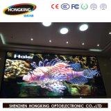Diodo emissor de luz flexível interno da tela de indicador de P3 HD para o fundo de estágio, conferência, eventos (painel preto do diodo emissor de luz SMD2121)