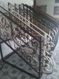층계 방책, 단철 예술 층계 손잡이지주