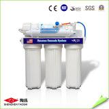 Filtro de tres fases de la tapa contraria del purificador del agua de la tapa de vector