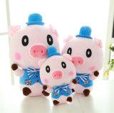 2016 jouets roses Multisize promotionnels de peluche de porc d'arrivée neuve