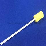 Esponja oral del palillo médico dental de la esponja