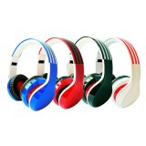 Auricular estéreo del receptor de cabeza de Bluetooth con el jugador de la tarjeta FM MP3 del TF