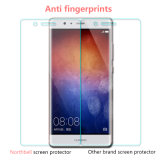 Protetor de vidro da tela do telefone durável superior do nanômetro para Huawei P9