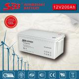 Batería del AGM de la batería 12V200ah del gel para el sistema Telecom