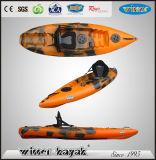 1 pagayeurs (Max) bon marché unique en plastique Sit on Top Kayak pour adultes et enfants