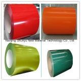 O MERGULHO galvanizou a bobina de aço, bobinas galvanizadas Prepainted revestidas cor do aço