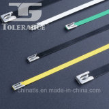 überzogene Edelstahl-Kabelbinder des Metall94v-2