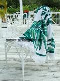 Reactief Afgedrukt om de Handdoek van het Strand van de Cirkel met Microfiber