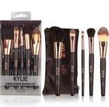 El conjunto de cepillo de Kylie para el maquillaje de los cosméticos aplica el equipo de la belleza con brocha
