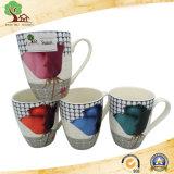 Leche de cerámica colorida de 13 onzas del nuevo diseño, taza de café