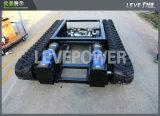 Estrutura de borracha de transporte elétrica da trilha do carro com bom preço